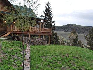 Yellowstone Mountain Lodge,  20 miles from Yellowstone National Park, sleeps 8