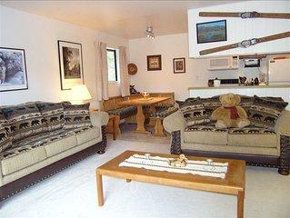 Comfortable & Convenient 1BR Condo in Squaw Valley, USA