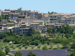 Provencal Village House In Saignon, Provençe, South Of France
