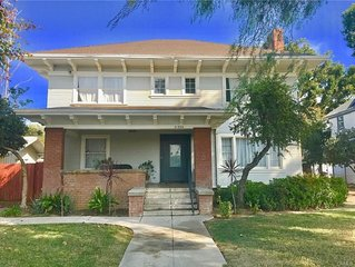 Historic Charm with Modern Comfort downtown Riverside