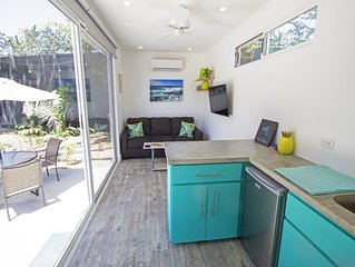Clean & Modern Shipping Container Close To Beach! 1 of 2 on our property.