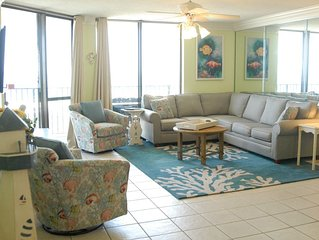 Beautiful 5 BR on the gulf -  the space of a house...amenities of a cond