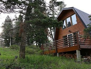 Cozy Cabin/Park City/Wooded mountain area with spectacular views
