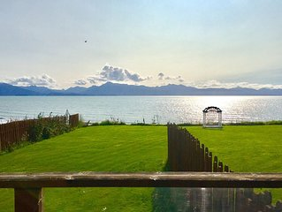 Waterfront Kachemak Cottage on Bishops Beach in the heart of town with View
