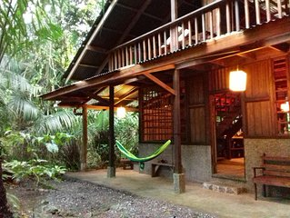 Beachfront-rainforest tropical paradise retreat, Drake Bay, Osa Peninsula