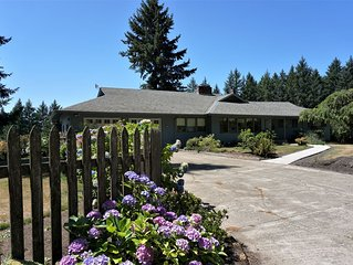 New Listing! Family Friendly Wine Country Home