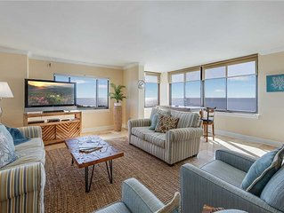 Sandarac A908, 2 Bedroom, Heated Pool, Gulf Front, Elevator, WiFi, Sleeps 6