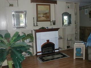 VERY BEST VALUE AND NO STAIRS/ELEVATORS for over 45 PRIVATE HOME,GULF CANAL/POOL