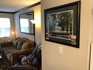 Master's Week 3Bd/2Ba Only 2 Miles from Free Parking at Master's