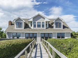 Jonah's Whale - 6 Bedroom oceanfront home with ocean and ICW views
