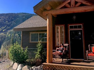 Morrisey Chalet At Sun Peaks:  Stunning Mountain Home In Quiet Setting!