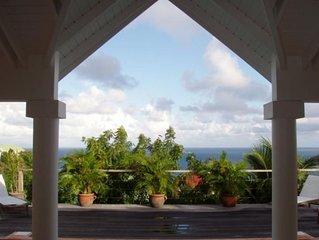 Romantic and Private Villa Bijou, St. Barthelemy