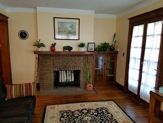 A Restored 1911 Arts & Crafts style 3 BR home