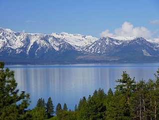 Air Conditioned Modern Luxury Rental w/ HEAVENLY & Lake Tahoe Views + Hot Tub (P