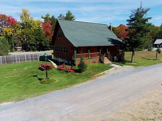 4 BR Adirondack Log House
