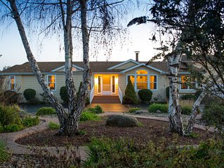 Tranquil Acres, Relaxing Wine Country Retreat