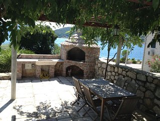 Spectacular waterfront villa on Bay of Kotor