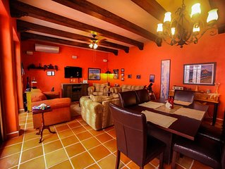 Charming 1 BR & 2.5 BA Casita in the colorful Loreto Bay. Golf cart Available fo