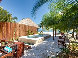 Turtle Villa | Romantic Getaway on the Beach | Newly Renovated | Private Pool