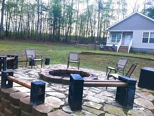 Cozy cottage in the woods with 10 wooded acres.