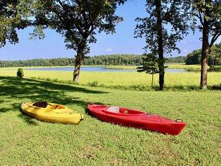 Piscataway Retreat-Private Waterfront Getaway