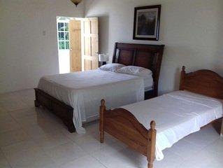 Pearl Ocean Villa Vacation rental. The villa is located in a quiet retreat.