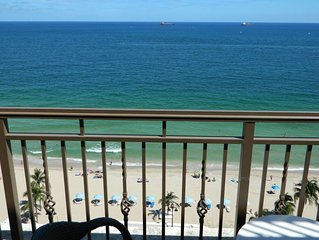 Oceanfront Luxury Condo-Balcony-Kitchenette-5 Stars The Atlantic Resort And Spa