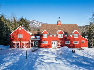Picturesque apartment on 5 private acres overlooking Bromley Mountain.