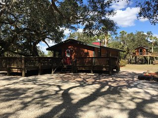 Myakka Riverfront Cabin on 1.4 Acres in Venice