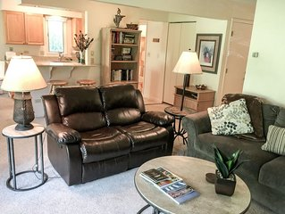 Remodeled 2 Bedroom East Vail Condo #102 w/ Hot Tub. Steps to Shuttle.