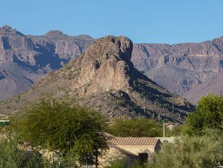 Views of Dinosaur and the Superstitions