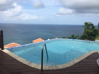 Beautiful Villa w/Private 360 views of the Pitons/Ocean in St. Lucia