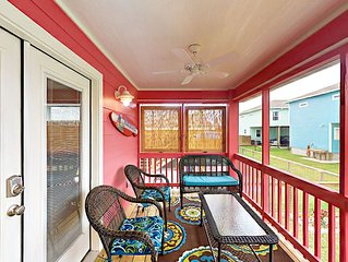 Fall Savings! New 2BR Cottage w/ Screened Porch, 2 Blocks to Bay