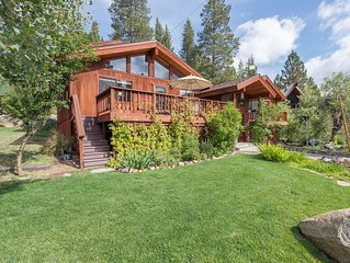 ***Victory Place*** Squaw Valley 6 BR with Private Hot Tub and Pool Table