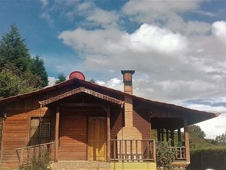 Fully Equipped Cabin, located in the highlands of the Talamanca Range.