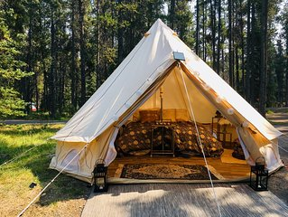 Luxury Tent—Golden Nights