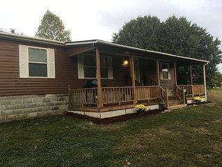Eagles Landing 1st Choice Cabin Rentals  Hocking Hills Ohio near Logan and Athen