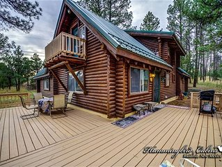 Logged Inn: No need to 'log-in' for a great stay at this wonderful log home. Wit
