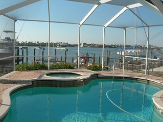 Waterfront Pool Home with Dock directly On Bal Harbor