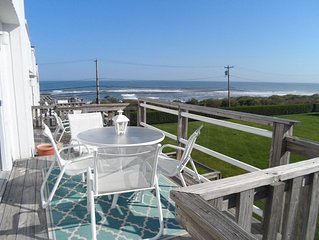 BEAUTIFULLY RENOVATED, OCEAN VIEW FROM EVERY  WINDOW  ACROSS STREET FROM PRIVATE