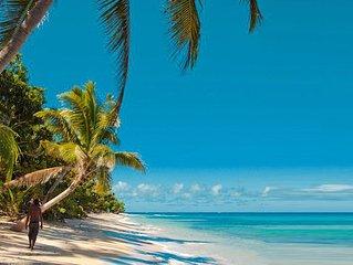 Glamping- Beachfront Family Cabin- Qamea Island- off Taveuni