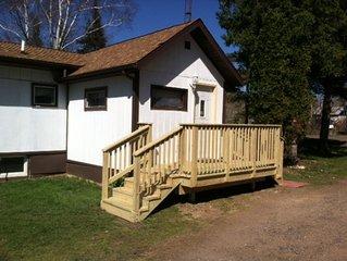 Comfy Trailside Retreat Northwest Wi, Near Birchwood, Hayward, Rice Lake