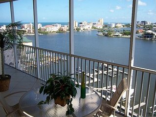 Luxurious 10th Floor Condo Spectacular View Both Bay and  Gulf