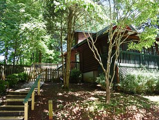 Ultimate Shady Retreat, Fenced for pets, hot tub in screened porch. - Free Wifi!