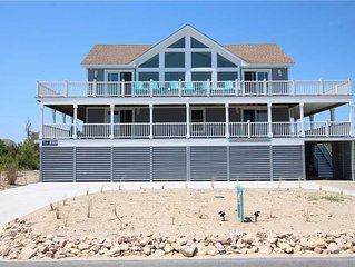 #4018: Semi-Oceanfront Home in Corolla w/PrivatePool & HotTub