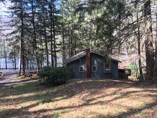 Unique lakeside cabin with exclusive access to Lake Logan and use of two boats