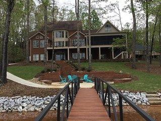 Keowee Waterfront Vacation Home - 9 Bedroom Family Getaway