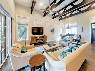 3BR in Luxe Waterfront Community w/ Lazy River Pool, Marina & Tennis