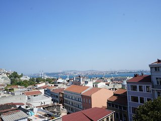 amazing bosphorus view  with affordable price for 4 people