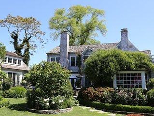 Hamptons Mecox Bay neighborhood located in Water Mill / Bridgehampton
